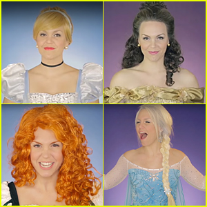 Singer Evynne Hollens Brings All Disney Princesses Together In Gorgeous Medley - Watch Now!