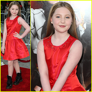 Ella Anderson Hits The Red Carpet For 'The Boss' Premiere