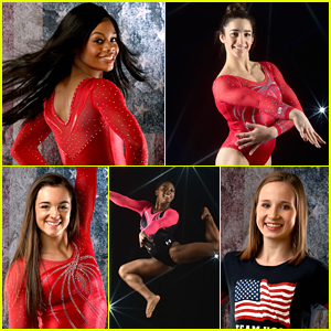 Gabby Douglas & Aly Raisman Talk About Age In Gymnastics While Olympic Portraits Debut