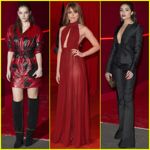 Barbara Palvin & Kristina Bazan Party in Paris With L'Oreal