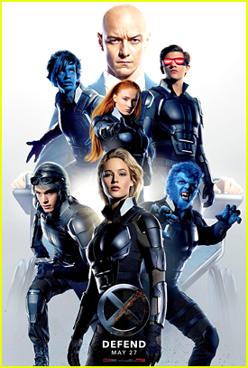 Jennifer Lawrence Leads The 'Defense' On New 'X-Men Apocalypse' Poster