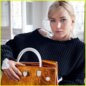 Jennifer Lawrence's New Dior Campaign Has Arrived!