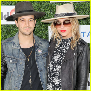 Mark Ballas & BC Jean Couple Up at LoveLife Event
