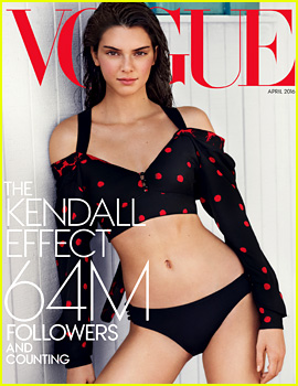 Kendall Jenner Shows Her Figure for 'Vogue' Special Edition Issue!