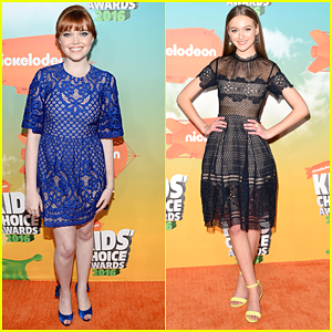 Kennedy Slocum & Gail Solthys Ran Into The Power Rangers at KCAs 2016