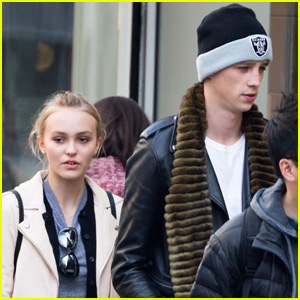 Lily-Rose Depp Grabs Lunch in Paris With Rumored Boyfriend Ash Stymest
