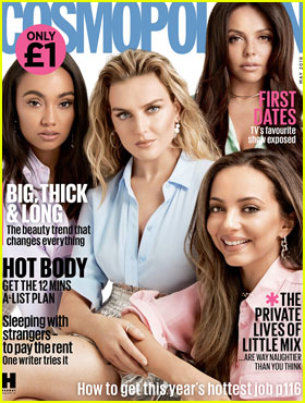 Little Mix Covers 'Cosmopolitan UK' May 2016