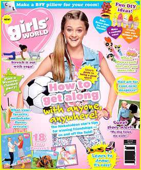 Lizzy Greene Covers 'Girl's World's New Issue!
