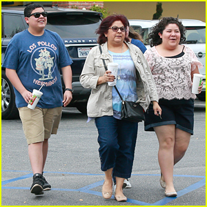 Raini Rodriguez & Brother Rico Head to Lunch After He Wraps 'Modern Family' Season 7