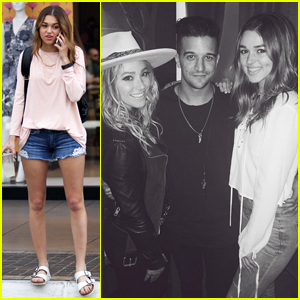 Sadie Robertson Reunites With 'Dancing With the Stars' Partner Mark Ballas!