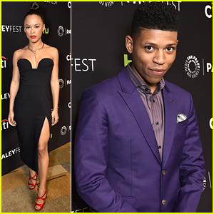 Serayah Is Smokin' Hot at 'Empire' Panel During PaleyFest 2016