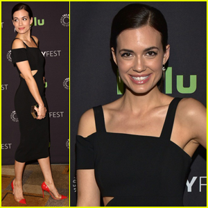 Torrey DeVitto Steps Out For The Salute To Dick Wolf at PaleyFest 2016