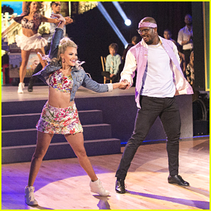 Witney Carson & Lindsay Arnold Burned Up The Floor With Partners For Latin Night on DWTS - See The Pics!