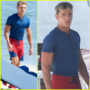 Zac Efron Meets Original 'Baywatch' Star David Hasselhoff