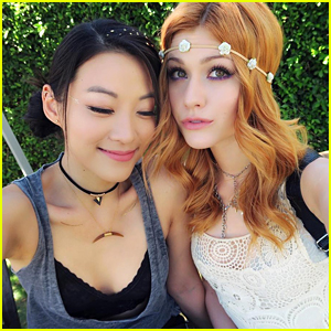 Arden Cho & Katherine McNamara Hit Coachella Together - See The Pics!