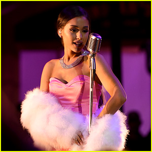 Ariana Grande Performs 'Dangerous Woman' Jazz Cover at MTV Movie Awards 2016 - Watch Now!
