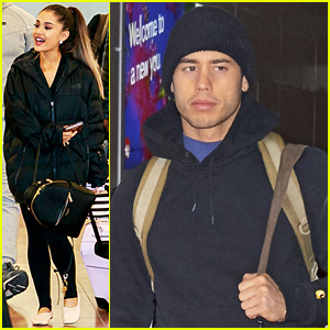 Ariana Grande Brings Ricky Alvarez to Japan for Promo Work!