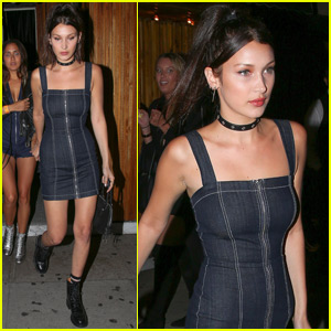 Bella Hadid Supports BFF Jesse Jo Stark at the Roxy
