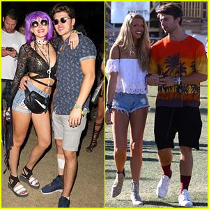 Bella Thorne & Gregg Sulkin Look Too Cute at Coachella