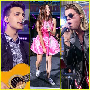 Jacob Whitesides, Megan Nicole, & Conrad Sewell Rock Nickelodeon�s #BuzzTracks Live Concert! (Videos)