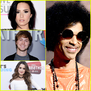 Demi Lovato, Laura Marano & More React To Prince's Death on Twitter