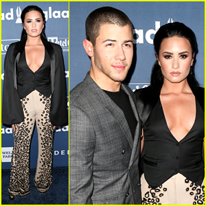 Demi Lovato Honored at GLAAD Media Awards 2016
