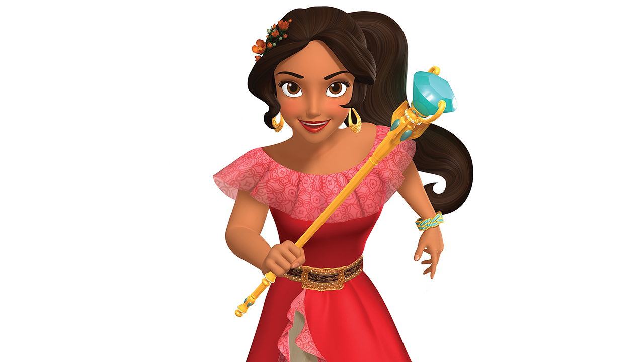 Coloring pages elena of avalor - Elena