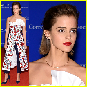 Emma Watson Attends White House Correspondents' Dinner 2016