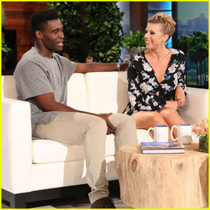 'DWTS' Duo Jodie Sweetin & Keo Motsepe Stop By 'Ellen' - Watch Now!