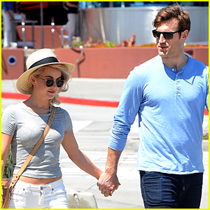 Julianne Hough's Fiance Brooks Laich Has Beach Workout Plans
