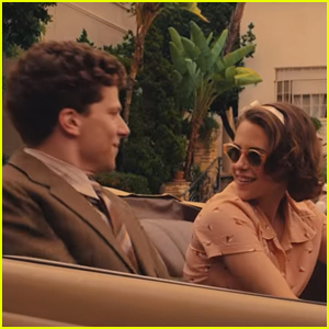 Kristen Stewart Charms Jesse Eisenberg in 'Cafe Society' Trailer - Watch Now!