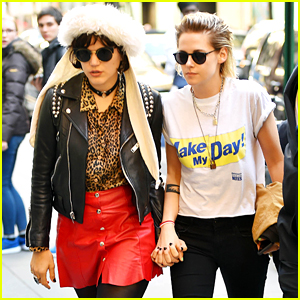 Kristen Stewart Spends the Day with Soko in NYC!