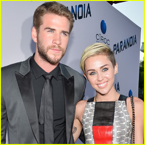 Liam Hemsworth Reveals He & Miley Cyrus Aren't Engaged