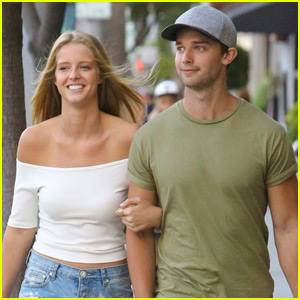 Patrick Schwarzenegger & Girlfriend Abby Champion Spend the Day in Beverly Hills