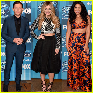 Jordin Sparks, Scotty McCreery & Lauren Alaina Stop By 'Idol' Finale