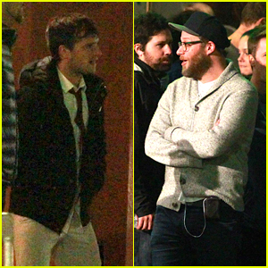 Josh Hutcherson Films Explosion for 'Future Man' With Seth Rogen