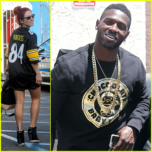 Sharna Burgess is 'Excited' About What's To Come with Antonio Brown on DWTS