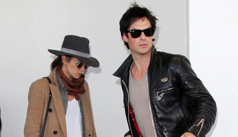Ian Somerhalder & Nikki Reed Spotted On Double Date with Friends