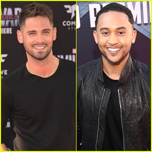 Jean-Luc Bilodeau & Tahj Mowry Hit Up 'Captain America: Civil War' Premiere