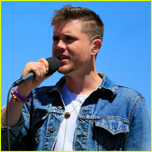 Trent Harmon Slays the National Anthem at NASCAR Race - Watch Now!