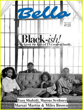 Yara Shahidi, Marcus Scribner, Miles Brown & Marsai Martin Talk 'black-ish' with 'Bello' Mag