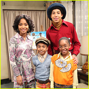 Yara Shahidi & Marcus Scribner Head To The 70s For 'black-ish' Season Finale