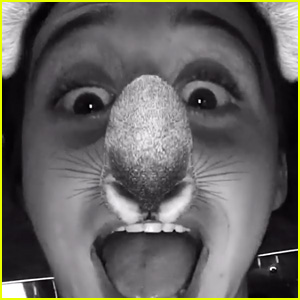 Brooklyn Beckham & His Mom Victoria Transform Into Kaolas Using Snapchat!