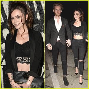 Cher Lloyd & Craig Monk Make It A Date Night Out in LA