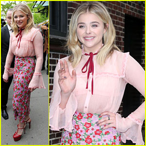 Chloe Moretz Has A 'Millennial' Moment on 'The Late Show'