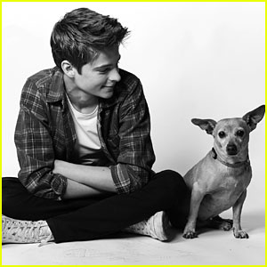 Corey Fogelmanis & Dog Sunshine Star in peta2's New Adopt Don't Shop Campaign