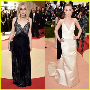Dakota Fanning Joins Sister Elle at Met Gala 2016