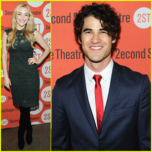Darren Criss Celebrates 'Dear Evan Hansen' Off-Broadway Opening!