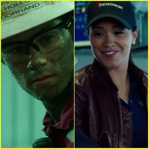Watch Dylan O'Brien & Gina Rodriguez Star in Official 'Deepwater Horizon' Trailer