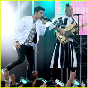 DNCE Rocks Out for Performance on 'Jimmy Kimmel Live!'